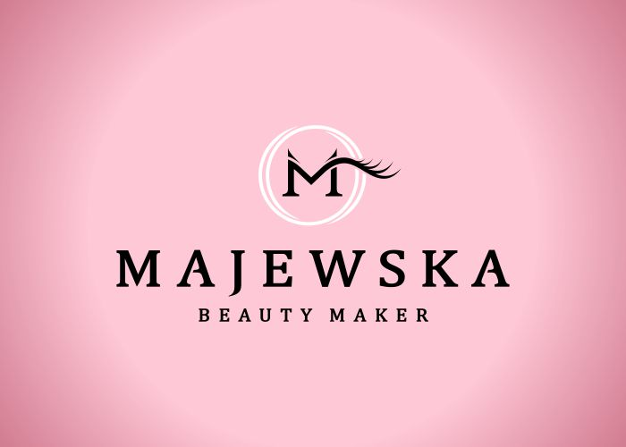Projekt logo Majewska beauty maker