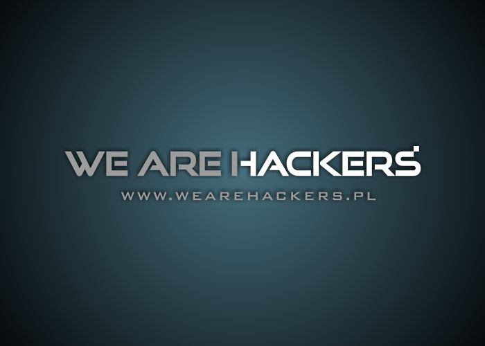 Logo We Are Hackers